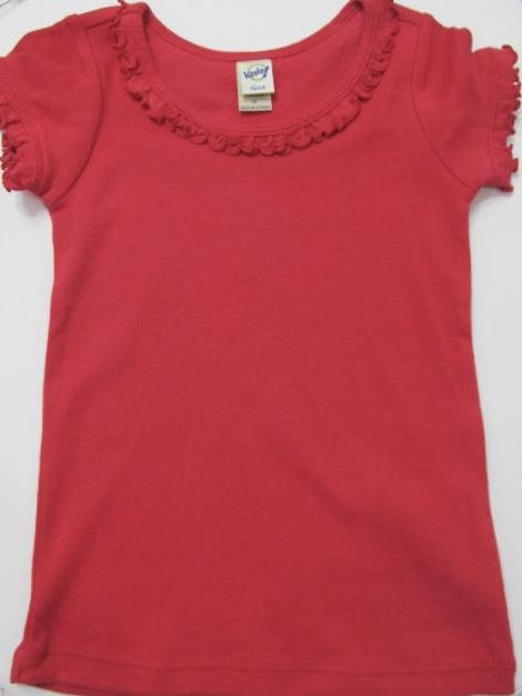 Kavio Girls Shirt sz. 3 red